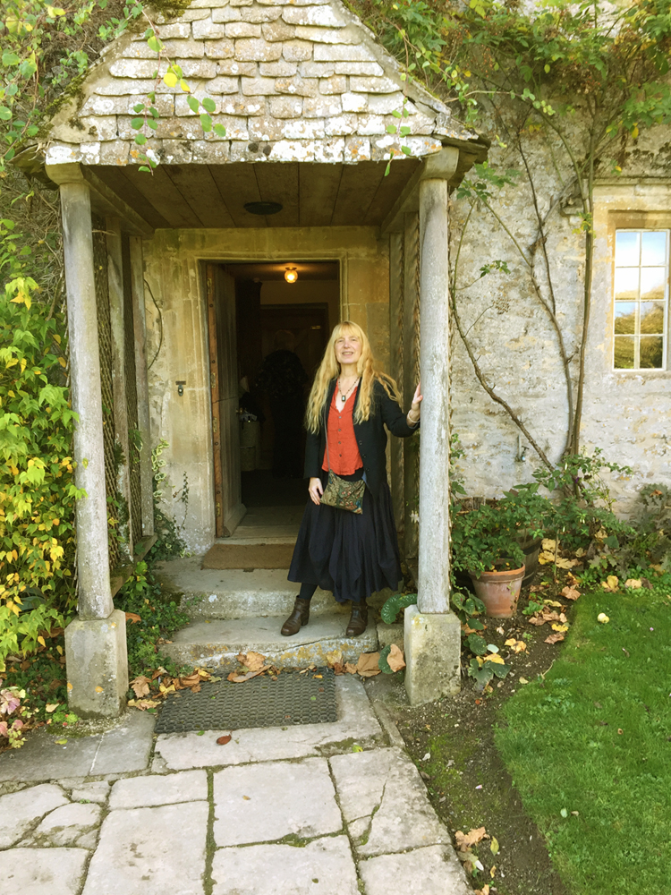 At Kelmscott Manor  October 2017 Photograph by Marja Lee Kruyt