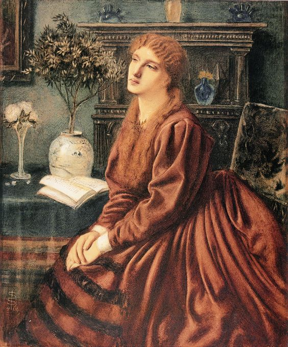 Poetry by Simeon Solomon