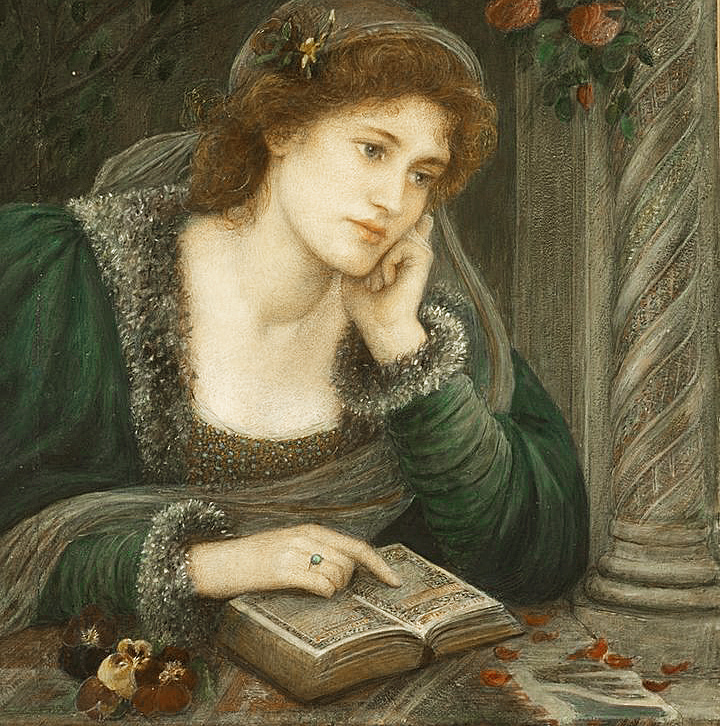 Beatrice by Maria Spartali Stillman