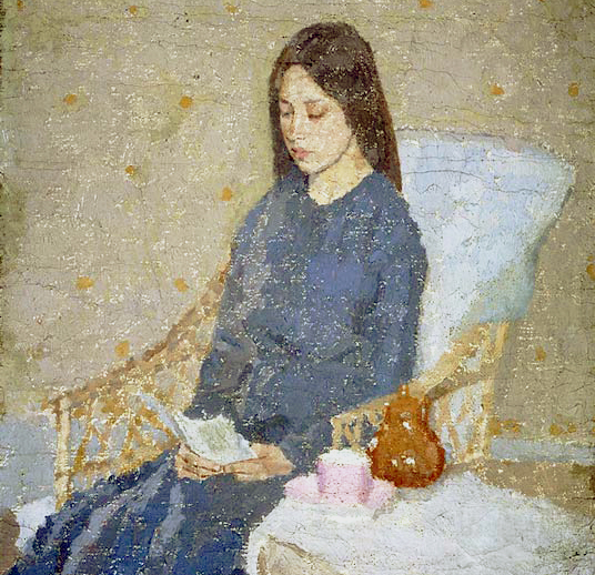 Study for The Convalescent by Gwen John