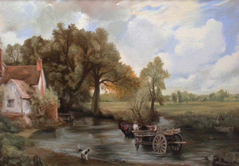 The Haywain by Constable