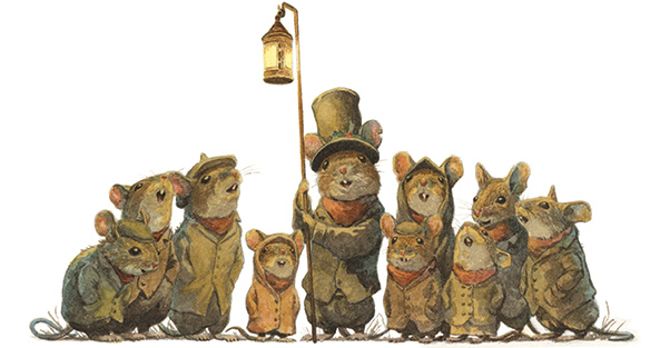 Mice Carol Singers (from Wind in the Willows) by Chris Dunn