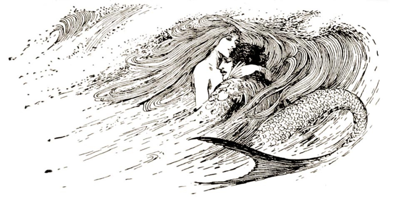The Little Mermaid by Helen Stratton