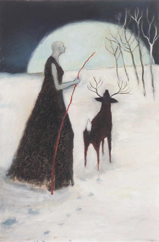Moon of Long Nights by Jeanie Tomanek