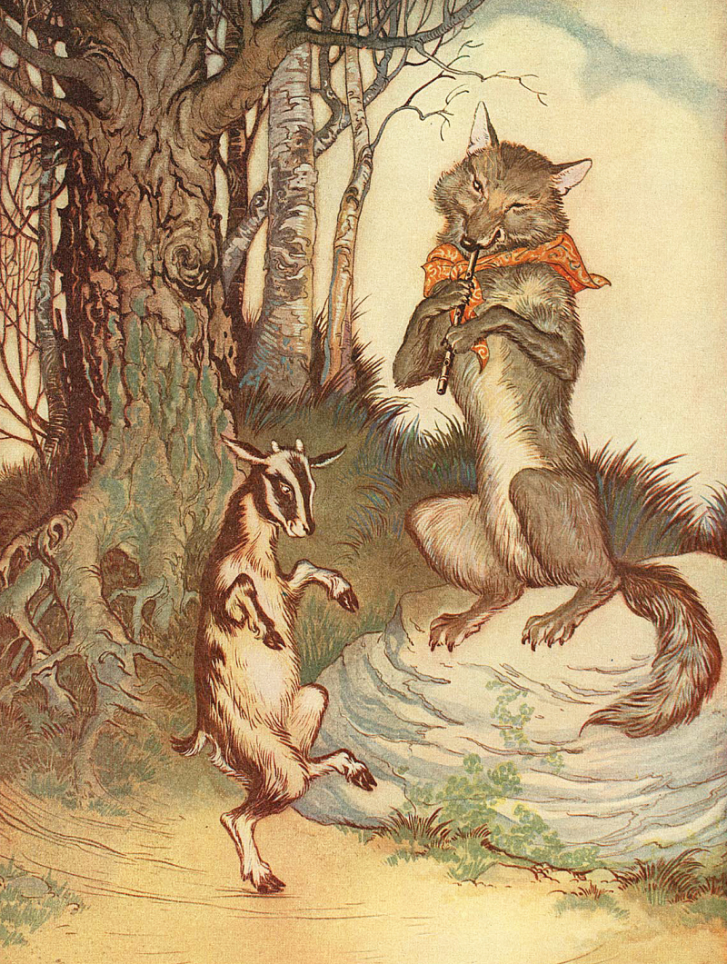 From Aesop's Fables  illustrated by Milo Winter