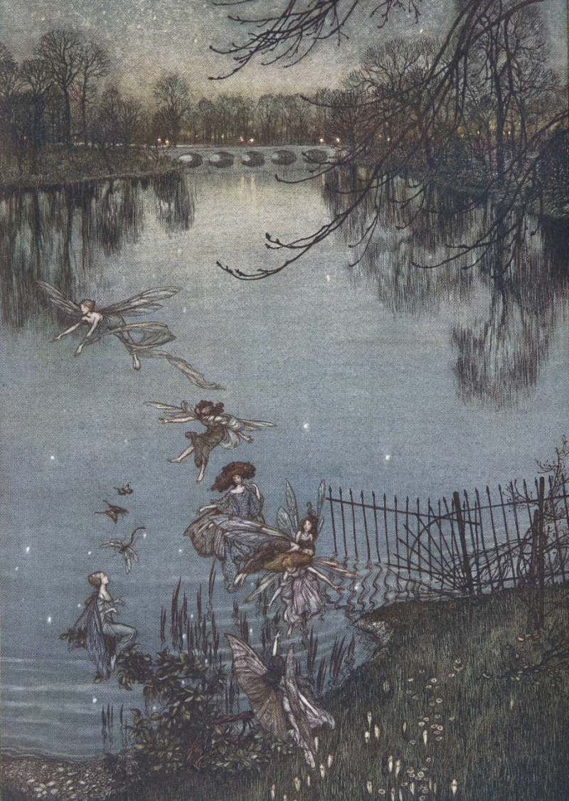 Peter Pan in Kensington Gardens, illustrated by Arthur Rackham
