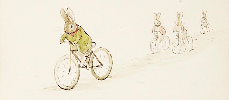 Sketch by Beatrix Potter  Christmas 1895