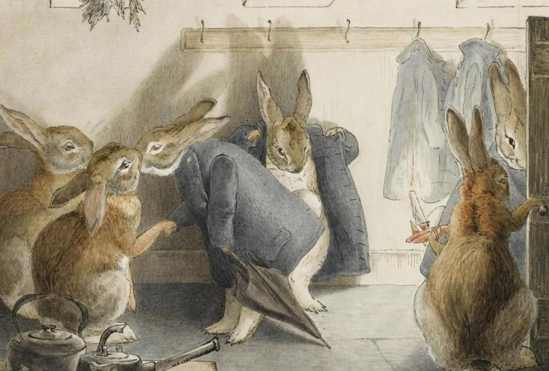 Rabbits by Beatrix Potter