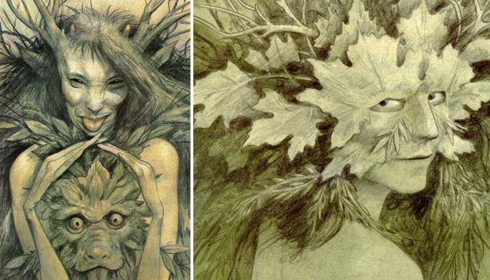 Green Women by Brian Froud