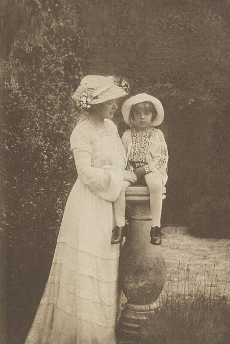 Sylvia and Michael Llewyln Davies