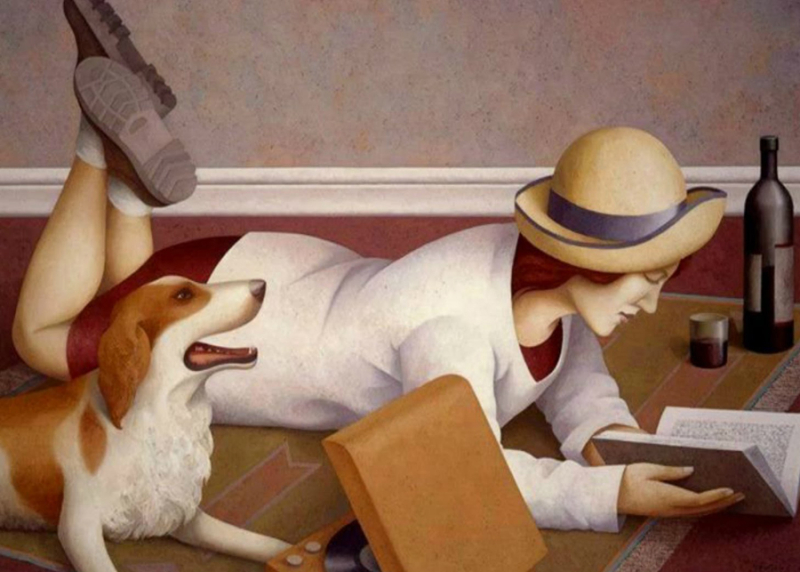 Reading Time by Fabio Hurtado