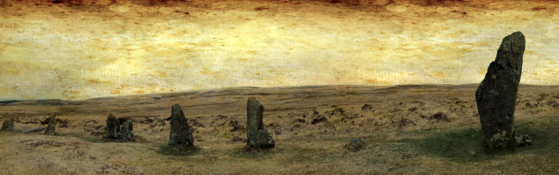 Scorhill Circle, Dartmoor, by Stu Jenks