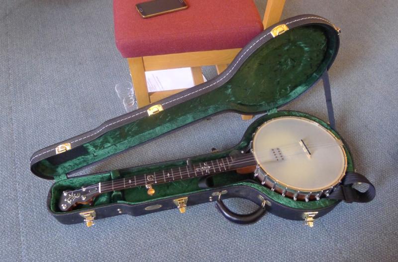 Fay's banjo