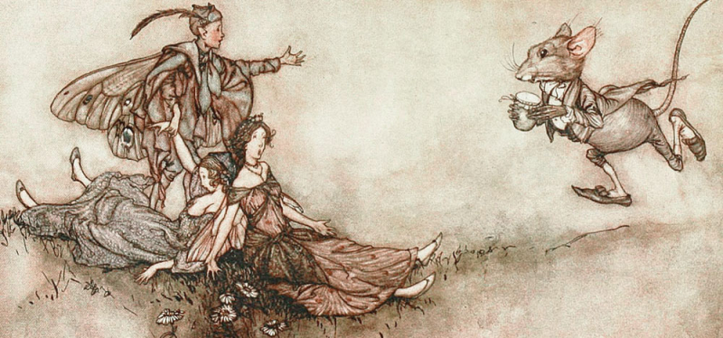 Wait! Wait! by Arthur Rackham