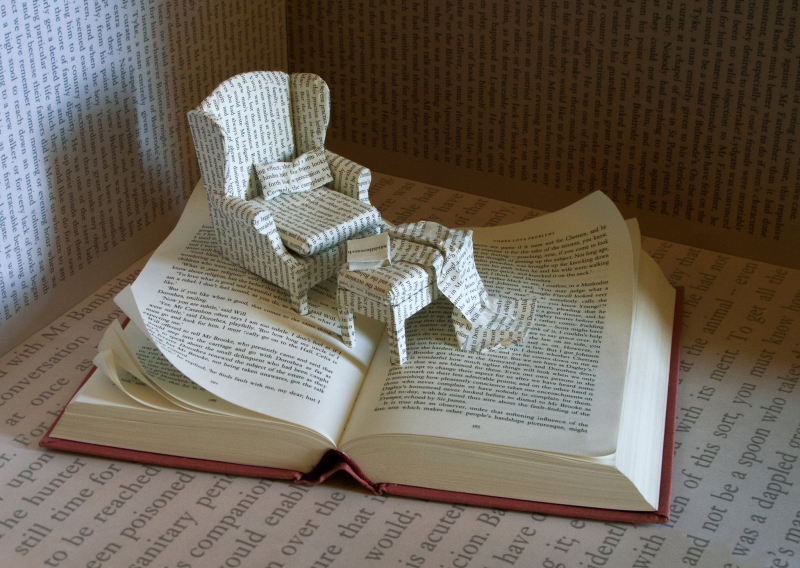Middlemarch book art by Stephen Doyle