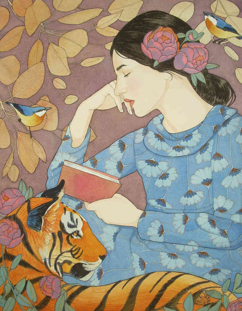 Even the Tiger Stopped to Listen to her Tale by Mary Alayne Thomas