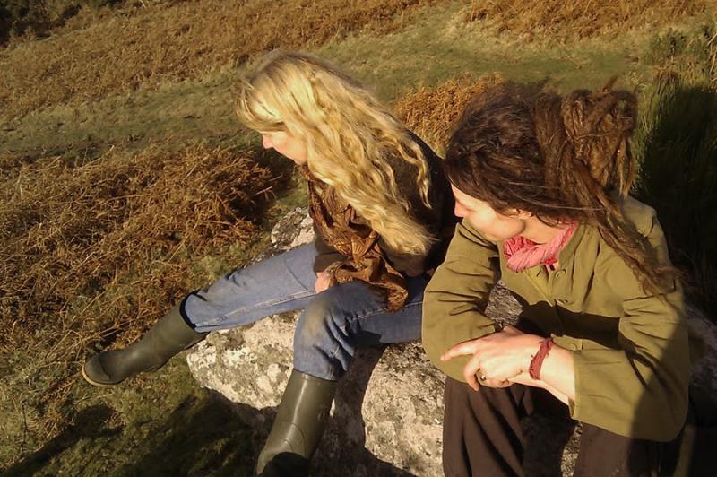 Terri Windling & Rima Staines, 2011