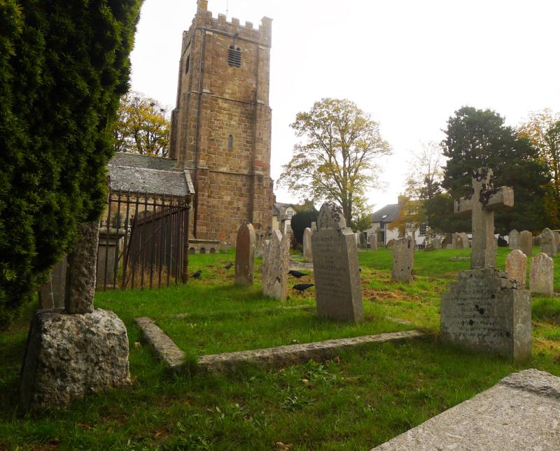 Chagford churchyard 8