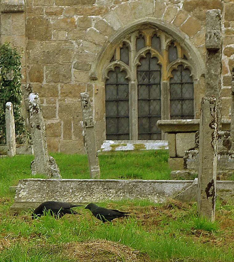 Chagford churchyard 4