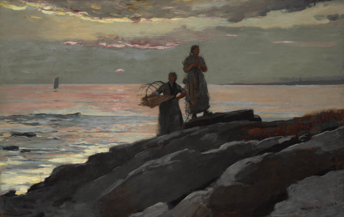 Saco By by Winslow Homer