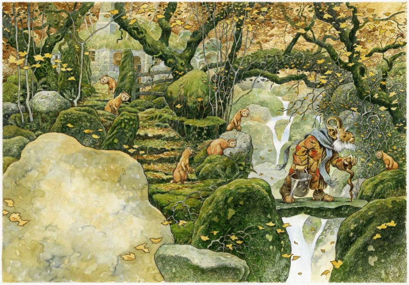 Fetching Water by David Wyatt