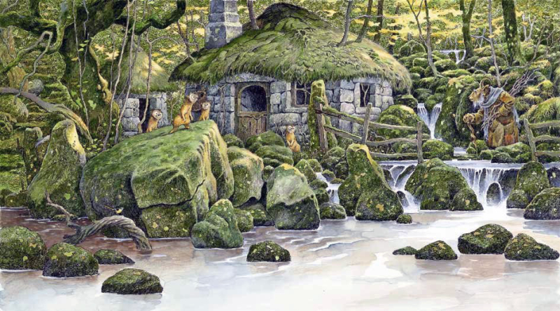 Old Goat's Home by David Wyatt