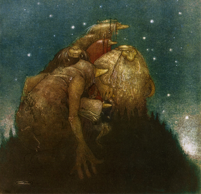 Trollsin Starlight by John Bauer