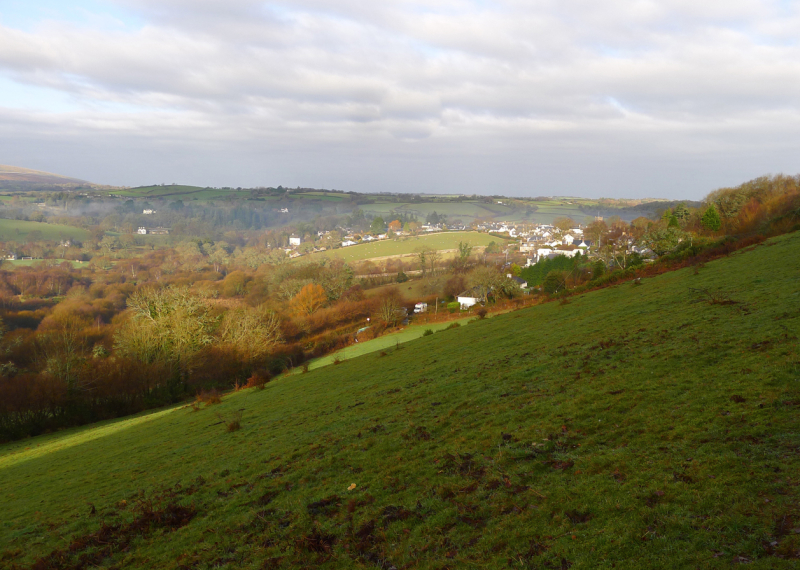 Chagford, New Year's Day 2018