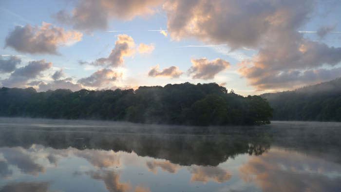 Sunrise on the River Dart