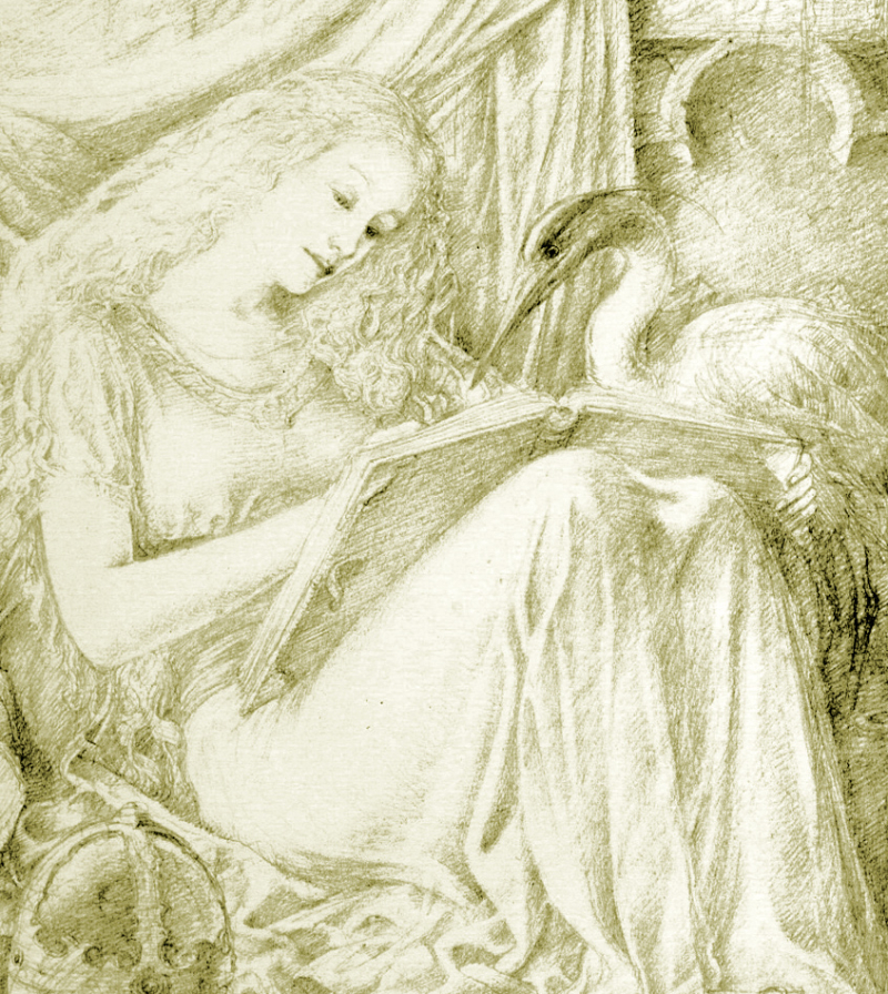 The Sorceress by Alan Lee
