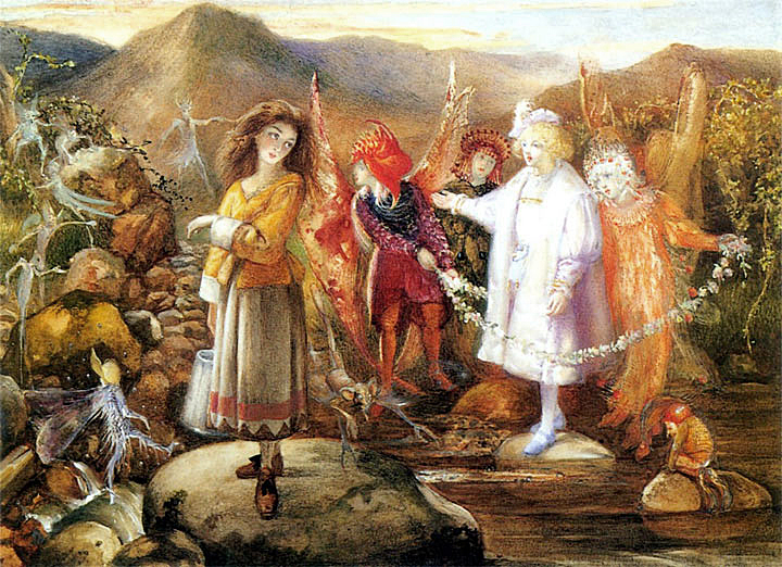In the Land of the Faires by John Anster Fitzgerald