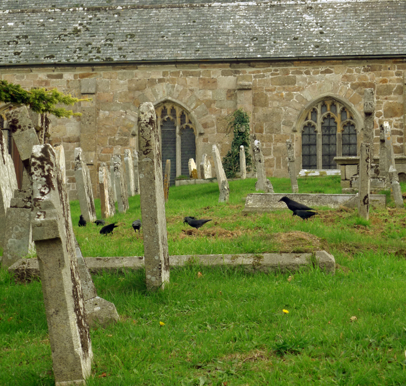 Chagford churchyard 3