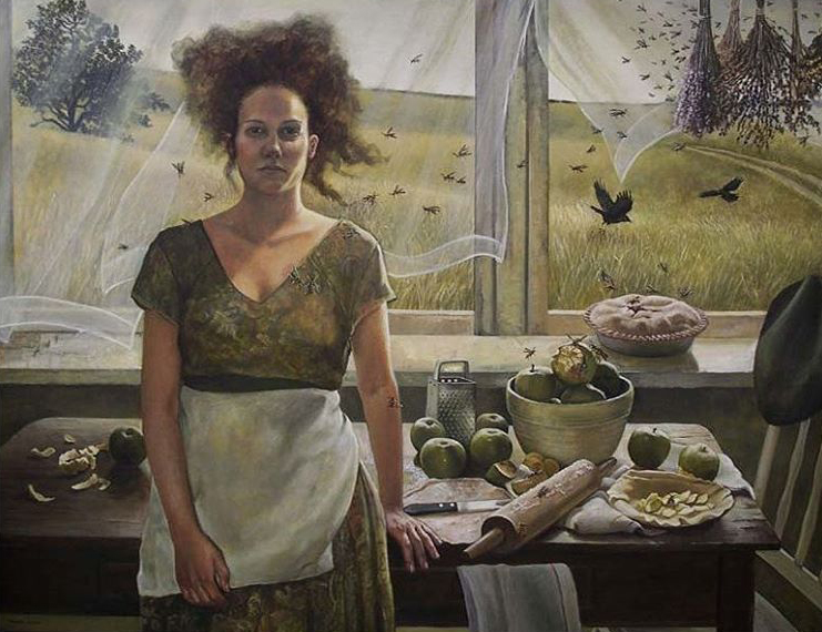 Apple of My Eye by Andrea Kowch
