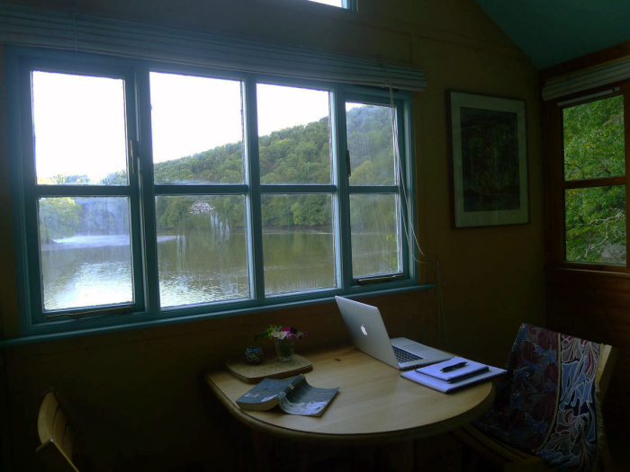 Writing on the the river