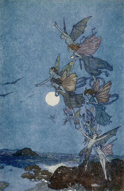 Fairies by Edmund Dulac