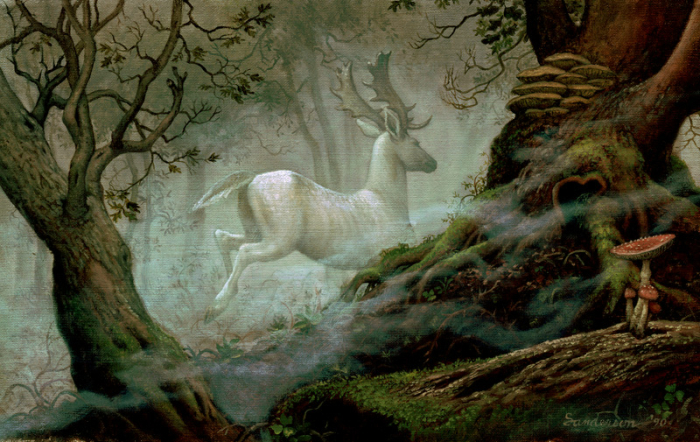 White Stag by Ruth Sanderson