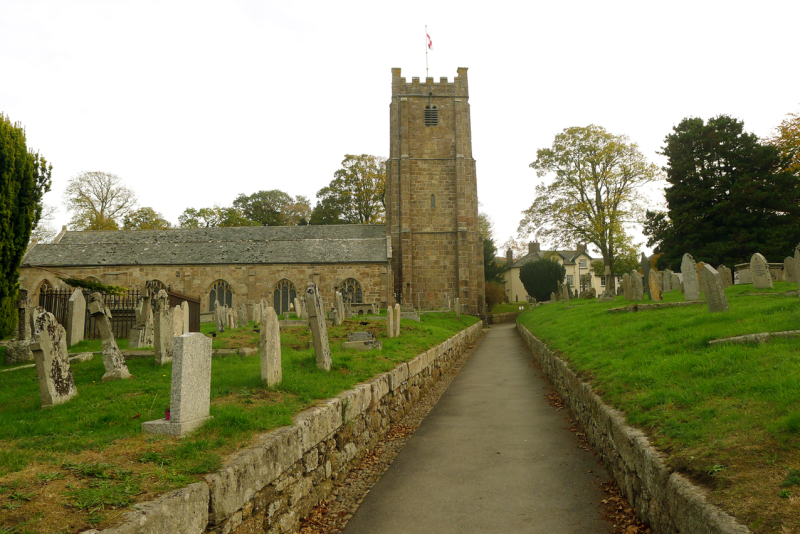 Chagford churchyard 2