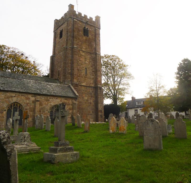 Chagford churchyard 1