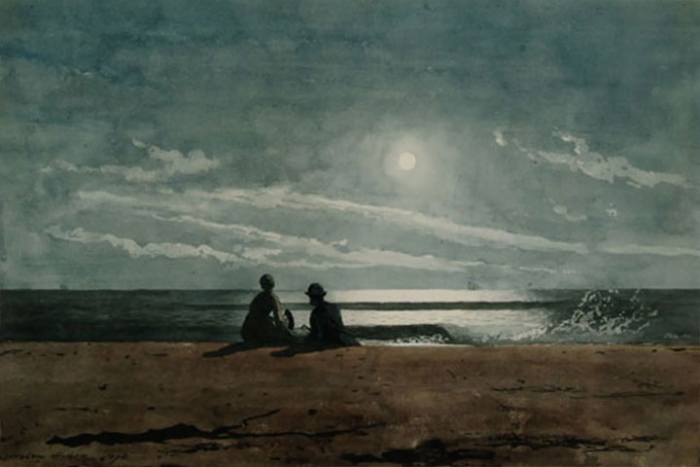 Moonlight by Winslow Homer