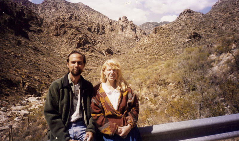 Charles de Lint and Terri Windling, Arizona, circa 1990s