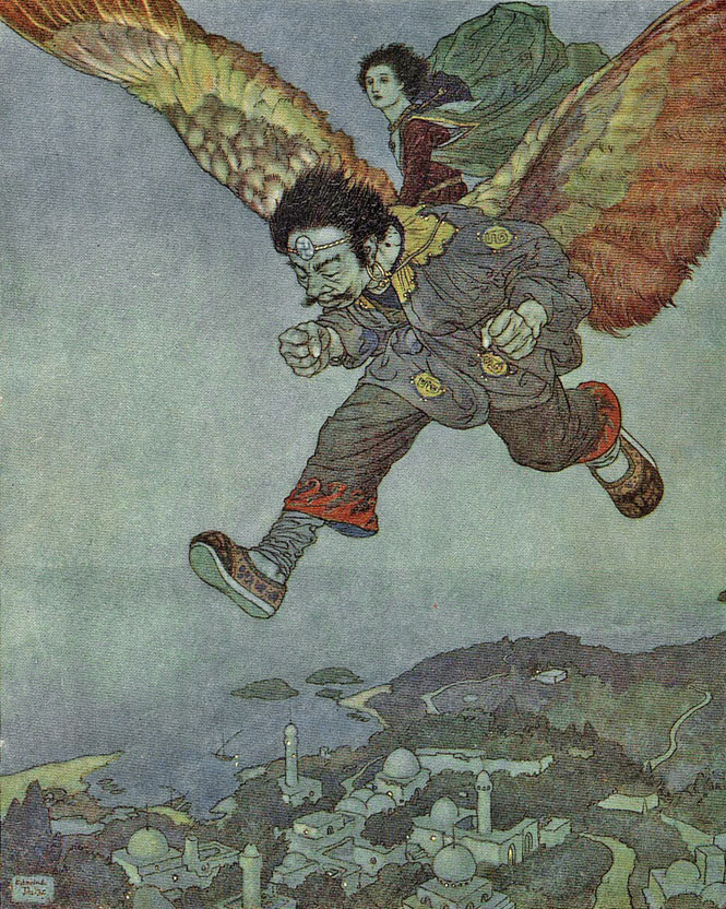 The East Wind by Edmund Dulac