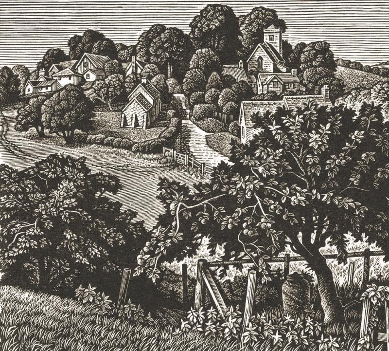 Ebbesbourne Wake, Wiltshire by Howard Phibbs