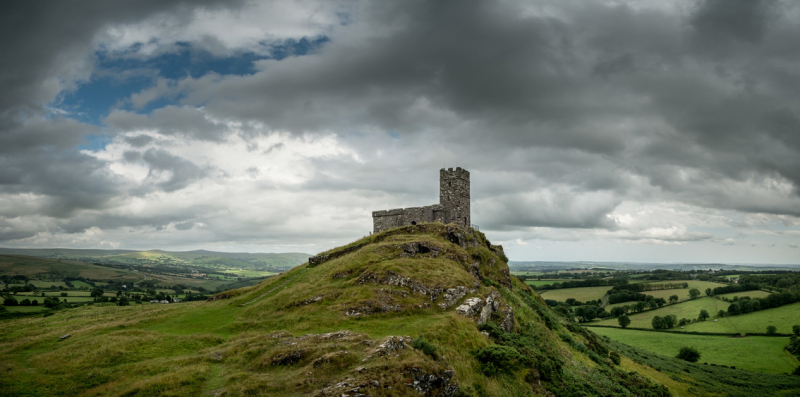 Brent Tor by Simon Blackbourn
