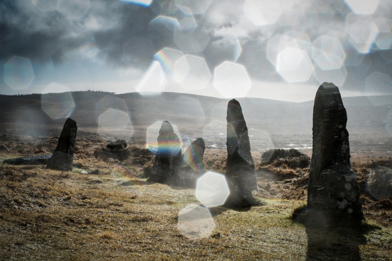 Scorhill Stone Circle by Simon Blackbourn