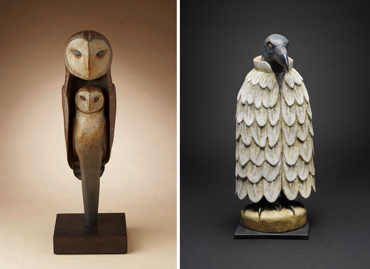 Owl Totem & Trickster by Hib Sabin