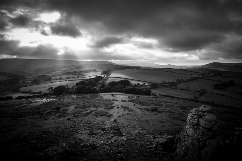 View from Hound Tor