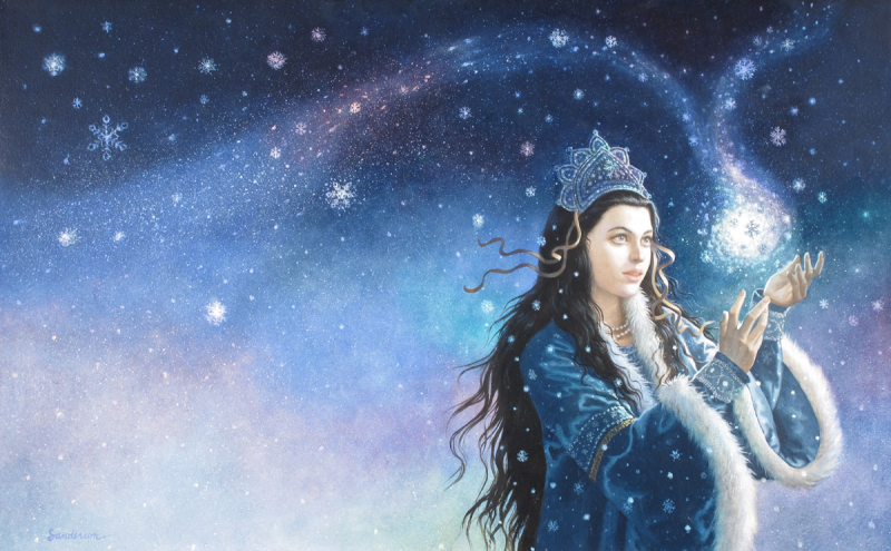 The Snow Princess by Ruth Sanderson