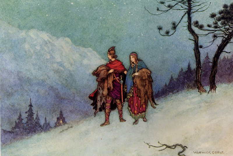 Stories from The Pentamerone by Warwick Goble