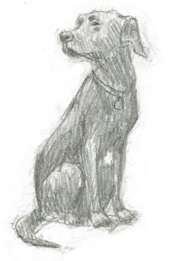 Tilly sketch by David Wyatt