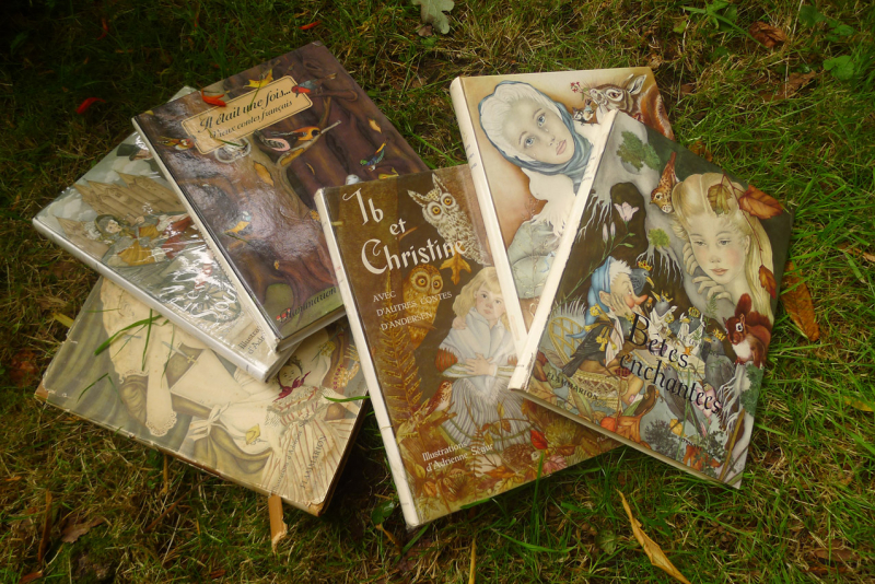 Books illustrated by Adrienne Ségur